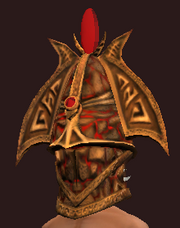 Sacrosanct Barbute of the Exarch (Equipped)
