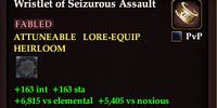 Wristlet of Seizurous Assault