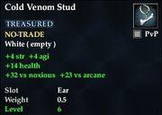 Cold Venom Stud