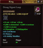 Droag Signet Loop