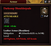 Darkseep Shoulderpads
