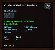 Wristlet of Blanketed Treachery