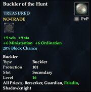 Buckler of the Hunt