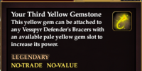 Your Third Yellow Gemstone