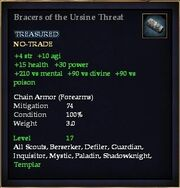 Bracers of the Ursine Threat