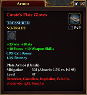 Curate's Plate Gloves