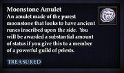 Moonstone Amulet