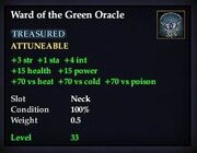 Ward of the Green Oracle