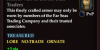 Russet Vest of the Far Seas Traders