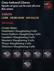 Gore-Imbued Gloves