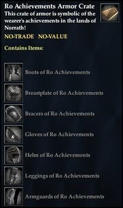 Ro Achievements Armor Crate