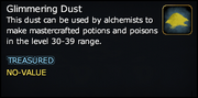 Glimmering Dust