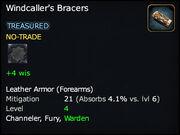 Windcaller's Bracers