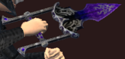 Shadow Punchblade (Equipped)