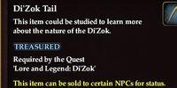 Di'Zok Tail