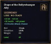 Drape of the Bellywhumper Ally