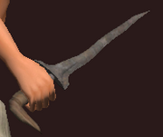Imbued Iron Ritual Dagger (Equipped)