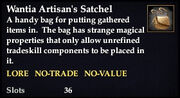 Wantia Artisan's Satchel
