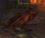 Elder skyfire wyvern