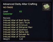 Advanced Deity Altar Crafting