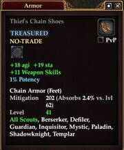 Thief's Chain Shoes