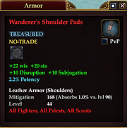 Wanderer's Shoulder Pads