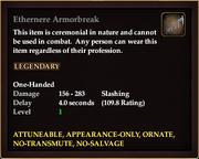 Ethernere Armorbreak
