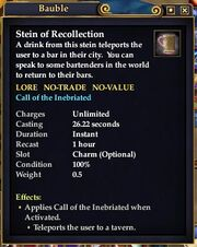 Stein of Recollection