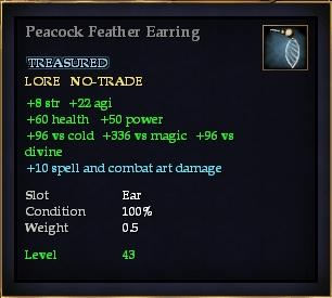 File:Peacock Feather Earring.jpg