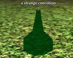 A strange concotion
