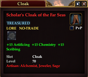 Scholar's Cloak of the Far Seas