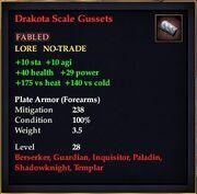 Drakota Scale Gussets