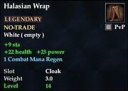 Halasian Wrap