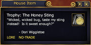 Trophy The Honey Sting (Examine)