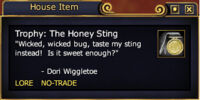 Trophy: The Honey Sting