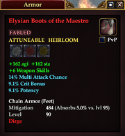 Elysian Boots of the Maestro