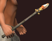 Necrotic Wand of Decay (Equipped)