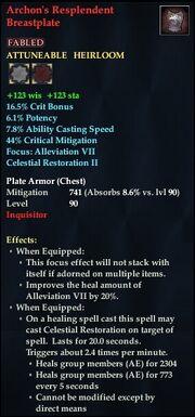 Archon's Resplendent Breastplate