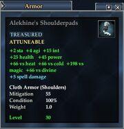 Alekhine's Shoulderpads