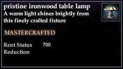 Ironwood Table Lamp