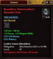 Boundless Naturewalker's Shoulder Pads