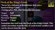 Deck of the King's Court