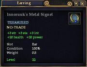 Innoruuk's Metal Signet