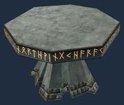 Tynnonium round table (Visible)