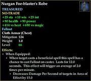 Nurgan Foe-blaster's Robe