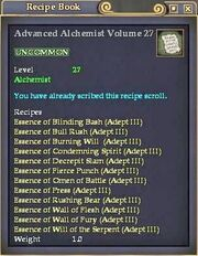 Advanced Alchemist Volume 27