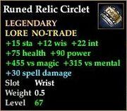 Runed Relic Circlet