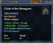 Cloak of the Strongarm