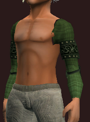 Forest Shoulderpads of the Far Seas Traders (Equipped)