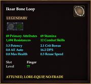 Iksar Bone Loop